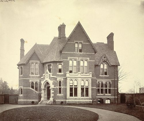 Unknown English building, 19th century (A. D. White