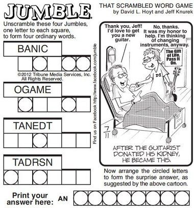 jumble solver 2 words 7 best jumble word puzzles images on crossword 799