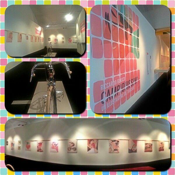 """""""Campionissimo me"""" Mostra con le opere di @riccardoguasco al #museodeicampionissimi"""