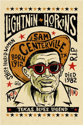 Lightnin' Hopkins, brought to you by the fine folks at MojoHand!