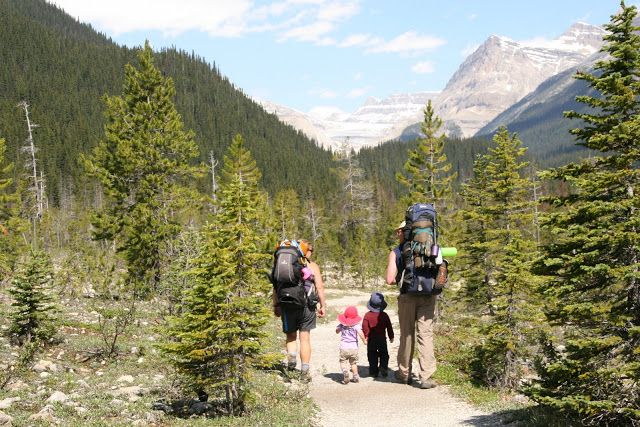 Family Camping Made Easy - Backcountry adventures, The best family backcountry campgrounds in the Canadian Rockies