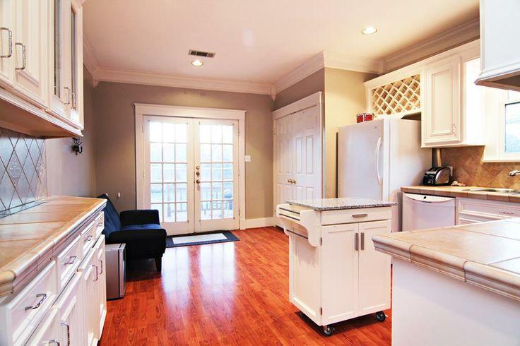Craftsman kitchen french doors