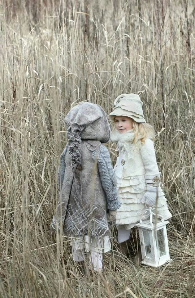 felted coats for kids