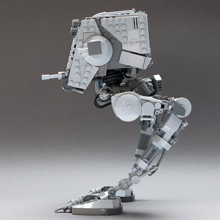 LEGO MOC MOC-4931 Articulated Star Wars AT-ST v2.1 - building instructions and parts list.