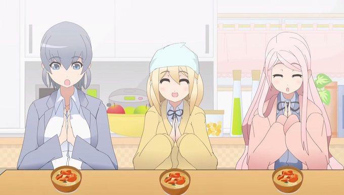 Anuncio para televisión del Anime JK-Meshi! introduce a sus personajes.