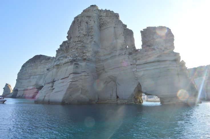 Boattrip, Kleftiko, Milos, Greece