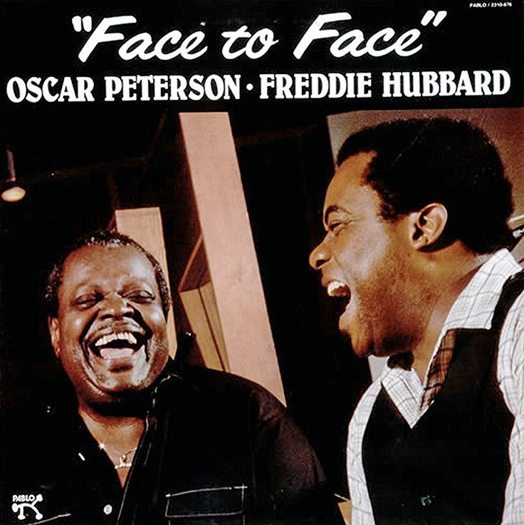 Facevinyl FACE TO FACE Oscar Peterson & Freddie Hubbard  #FaceToFace #OscarPeterson #FreddieHubbard #jazz #jazzmusic #vinyl #vinylcollection #Facevinyl #FacevinylLondon