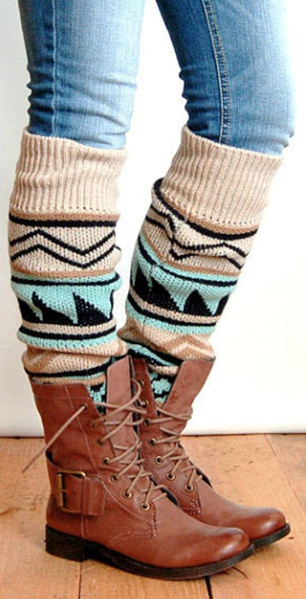 Boot Socks! Knee high socks.