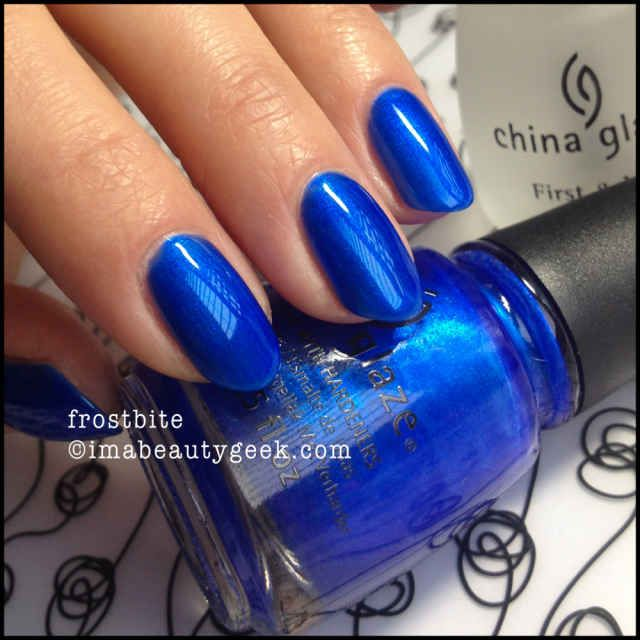 China Glaze Frostbite