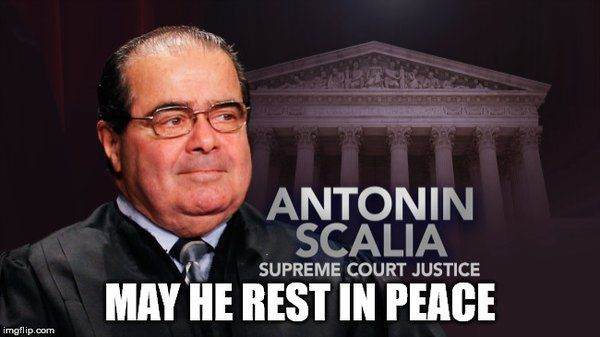 """They Killed Judge Scalia"" - Reports 2nd Amendment Now In Jeopardy-When ""Conspiracy Theories"" Are Proven True, Are They Still ""Conspiracy Theories""? 