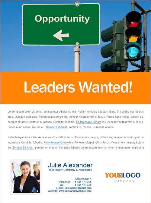 Recruiting Flyers Template Hobitfullring