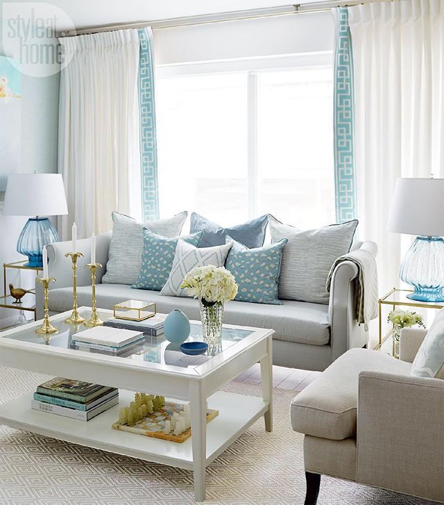 house of turquoise olivia lauren interior design blue and white living room
