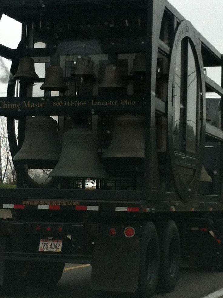 Carillon being delivered!