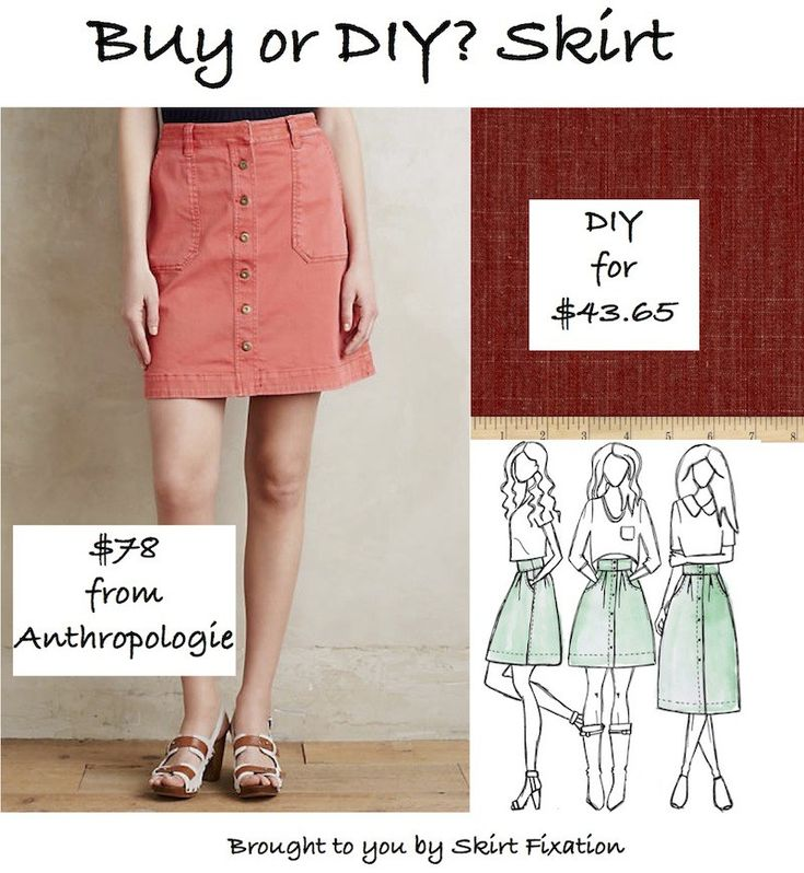 Want an Anthropologie skirt for 1/2 the price?  Check out my blog post for the DIY!