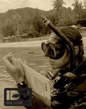 Even good looking with mask and snorkel :-)