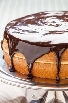 The Best Boston Cream Pie - Chew Out Loud