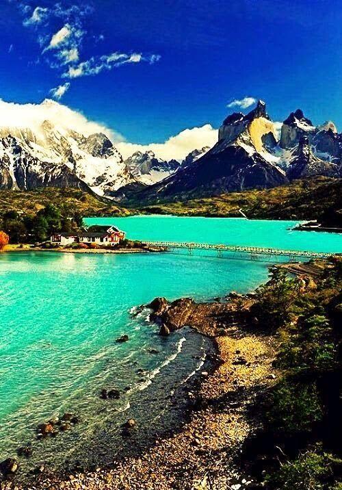 Laguna Pehoe, Chile