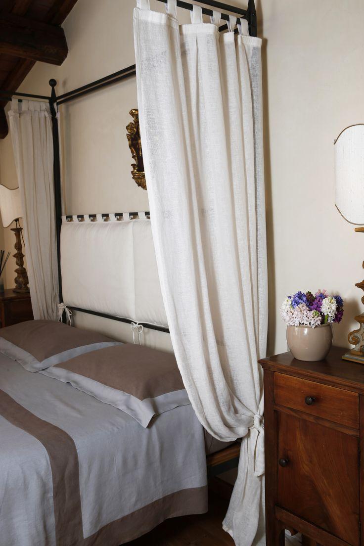 RubyRosa #bedroom #detail #curtain