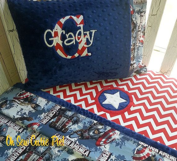 Baby Or Toddler Superhero Bedding 3 Piece Set Daycare