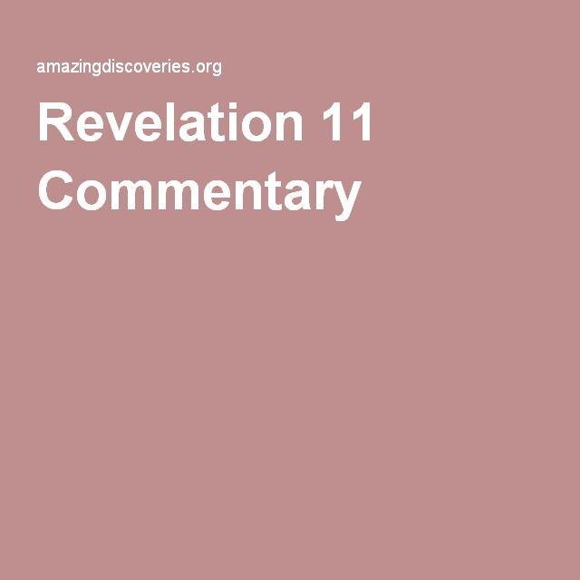 Revelation 11 Commentary