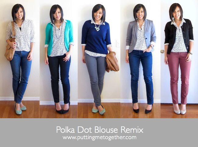 Putting Me Together - Polka Dot Blouse Remix