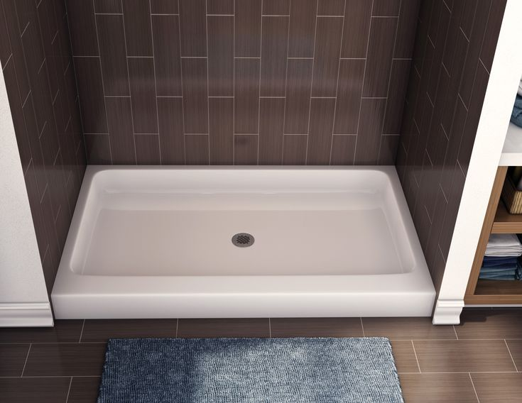 fiberglass shower pan american standard with modern rectangular shower base design