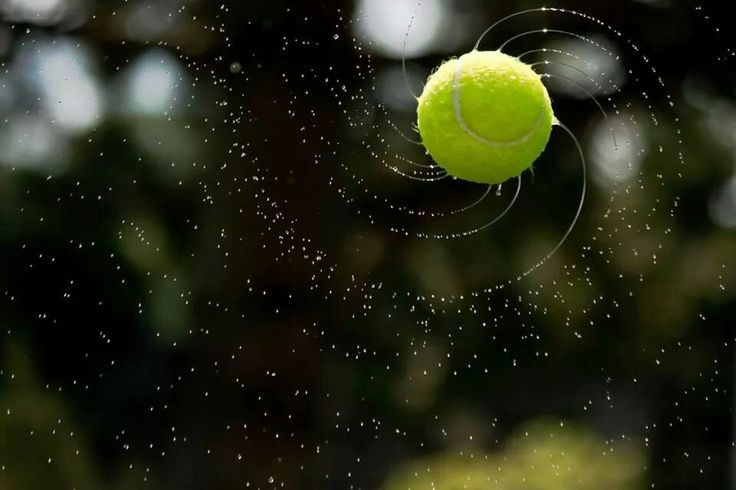 Love this pic of a tennis ball♥♥♥