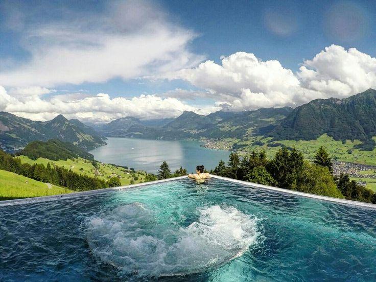 Pool View using GoPro - Definitely the Best Honeymoon Destination