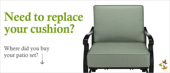 Patio furniture replacement cushions-listed by store...