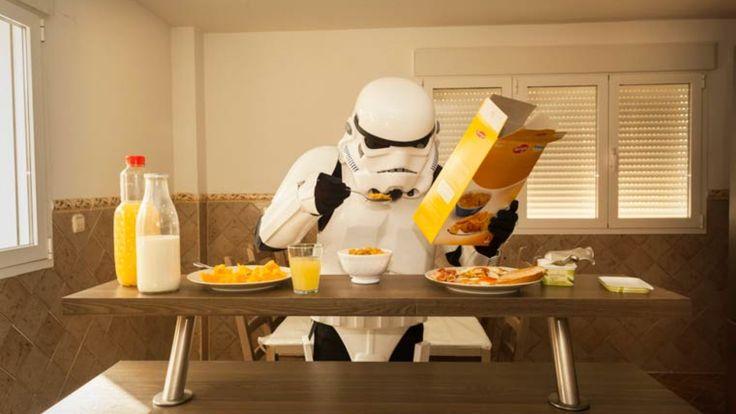 La vie quotidienne des Stormtroopers de Star Wars