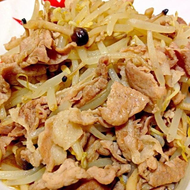 中華味。 - 5件のもぐもぐ - 豚肉もやし炒め by birdy