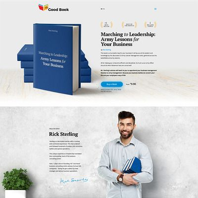 Books Responsive Web Sitesi Şablonu