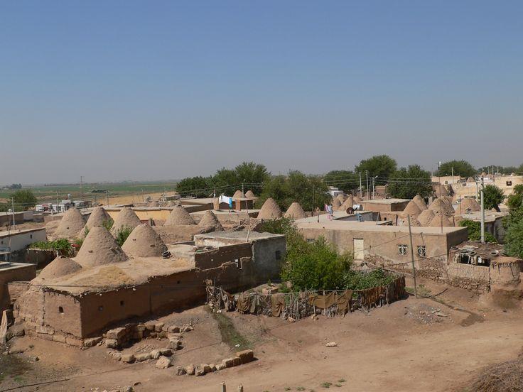 Kerpiç evler / Sun dried mub brick houses, Harran 2007