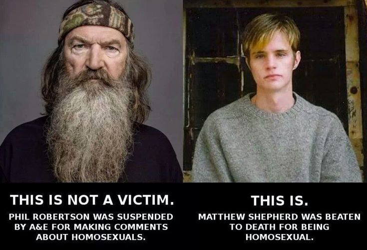 STOP calling this idiot a 'victim'!! Learn what the REAL meaning is - and what this bigotry leads to!!!