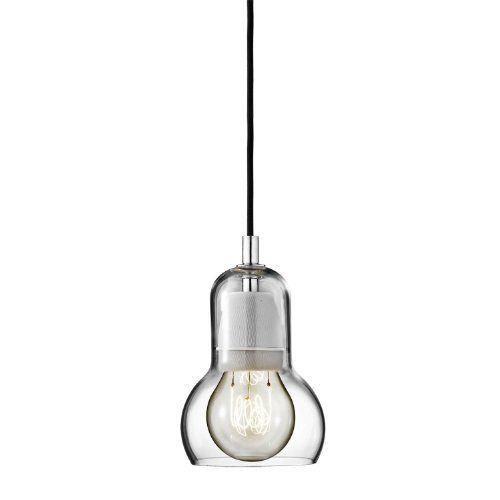 andTRADITION Hängeleuchte Bulb SR1 - Hängeleuchte - schwarz Sofie Refer, mundgeblasenes Glas, Wohnzimmerleuchte - Tischleuchte - Pendelleuchte - Deckenleuchte