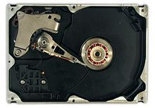 Hard Disk Drive It is a data storage device used for storing and retrieving digital information using rapidly rotating disks (platters) coated with magnetic material.