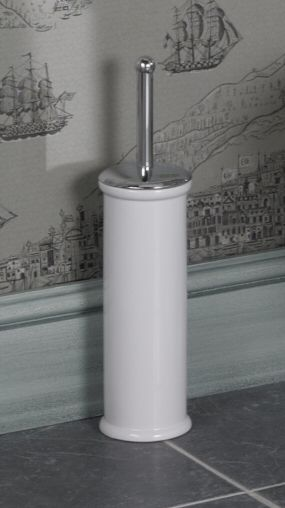 A Simple White Traditional Ceramic Toilet Brush Holder To Compliment Your Bathroom Suite Compact Design Ideas Pinterest