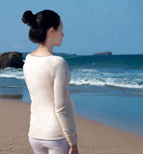 The Boatneck, Silk Cashmere, Round Neck – Olivia Graham Cashmere
