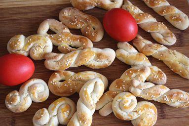 Greek Easter Biscuits (Koulourakia)