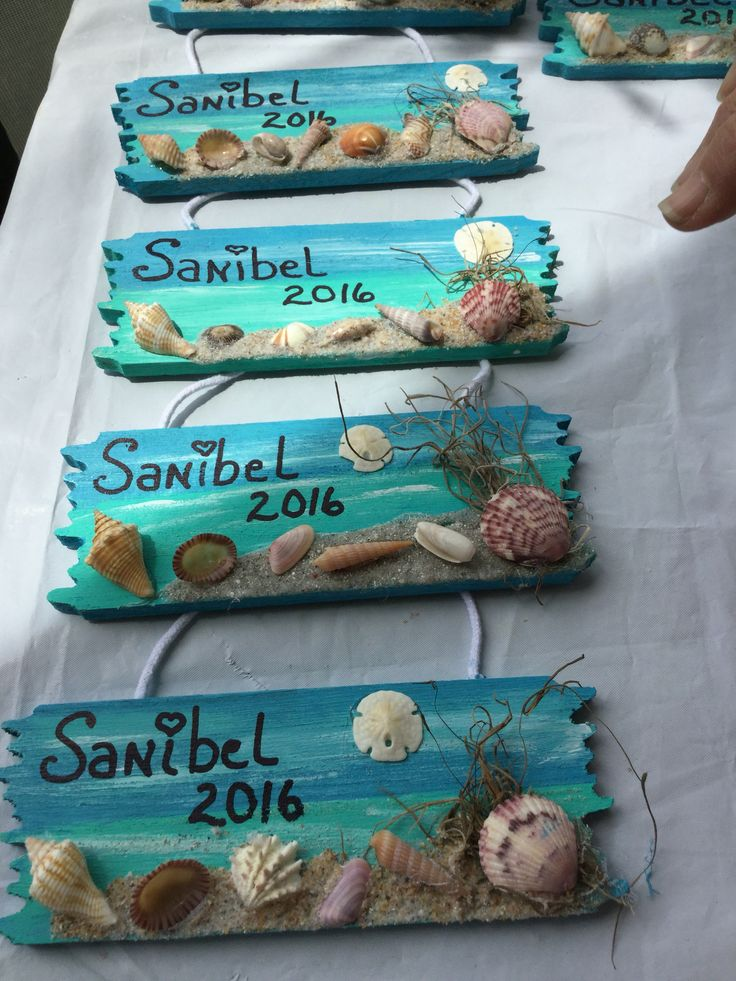 Easy vacation memory craft to do with your sea finds