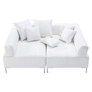 Sofa White, seats 4  - Duo £799
