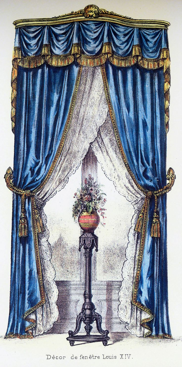 Curtains from my favorite book of Curtains.