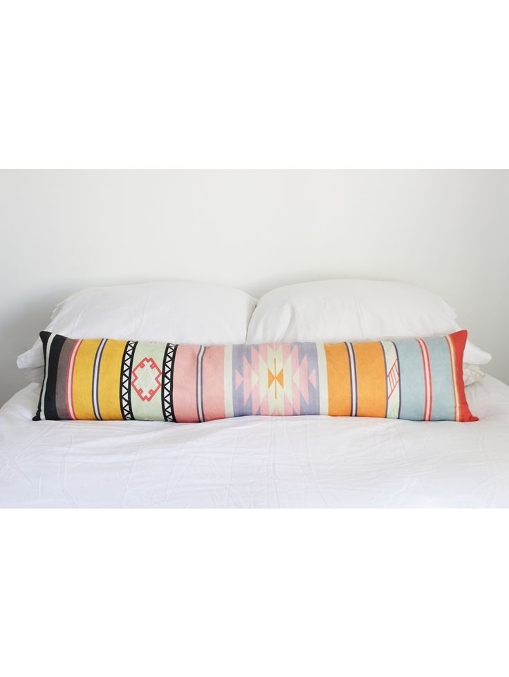 Adana Extra Long Pillow, Sherbert