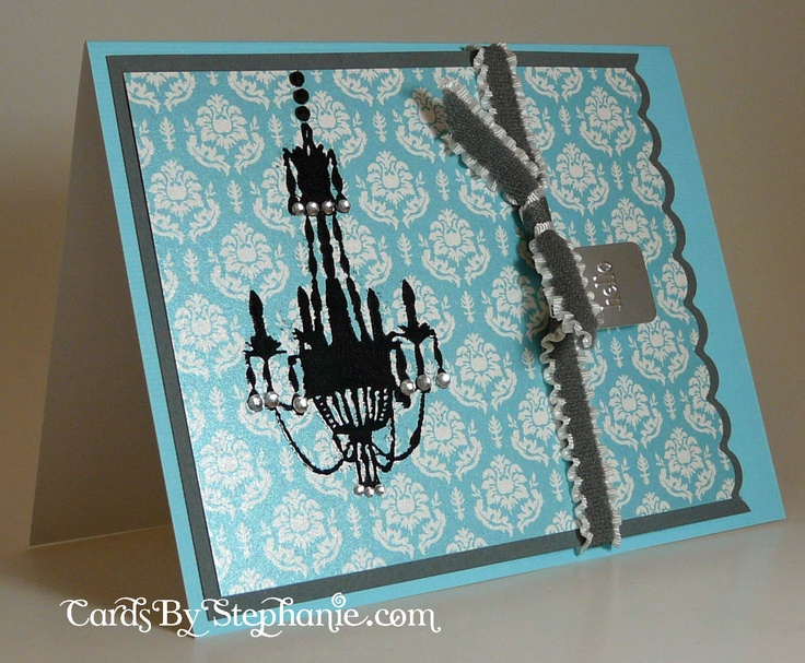 Chandelier Card: Stamps Cards, Cards Ideas, Chand Cards, Cards Inspiration, Inspiration Cardmaking, Chandeliers Cards