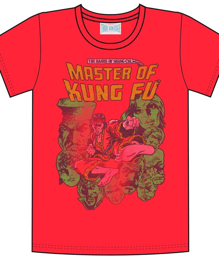 MASTER OF KUNG FU RED PX T-SHIRT LG (C: 0-1-3)