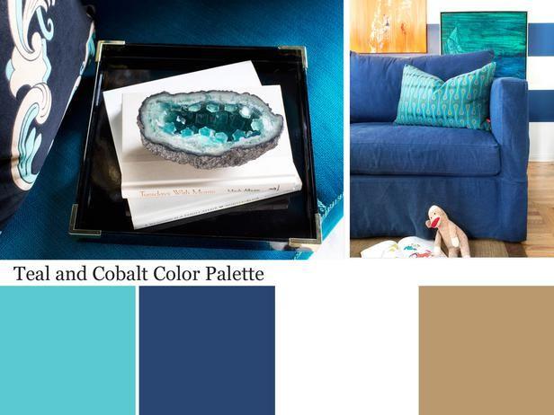 Teal Blue Color Palette - Teal Color Scheme for Your Home : Decorating : Home & Garden Television