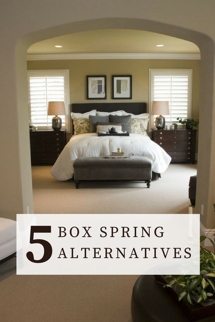Alternatives to Box Springs Furniture Ideas Bedroom Bed Mattress