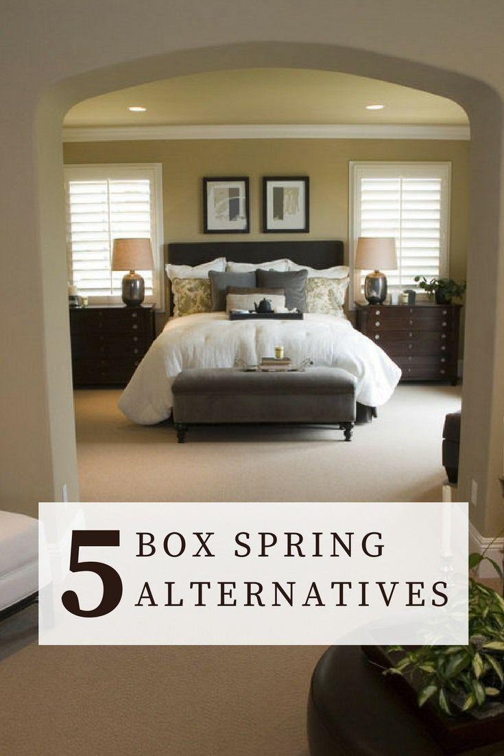 5 Alternatives To Box Springs Bed Master Bedroom Bedroom
