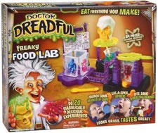 Dr. Dreadful. It says you can eat everything you make but it was more a question of did you want to eat it?