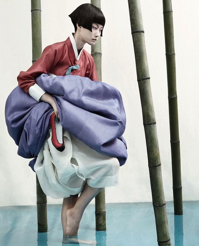The Amazing Hanbok in Shades of Traditional & Modern